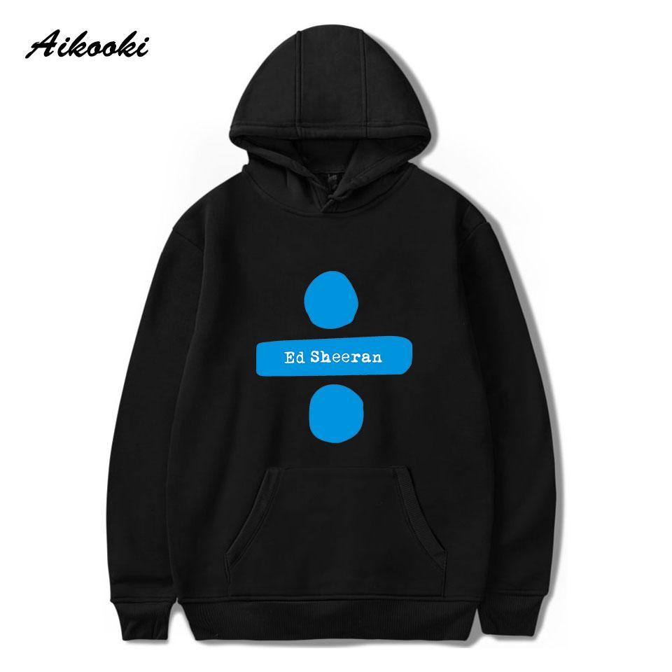 도매 가을 / 겨울 판매 남성 / 여성 ED sheeran의 Hoodies 스웨터 인기있는 독특한 힙합 아카데미 따뜻한 모자 후드에 맞게