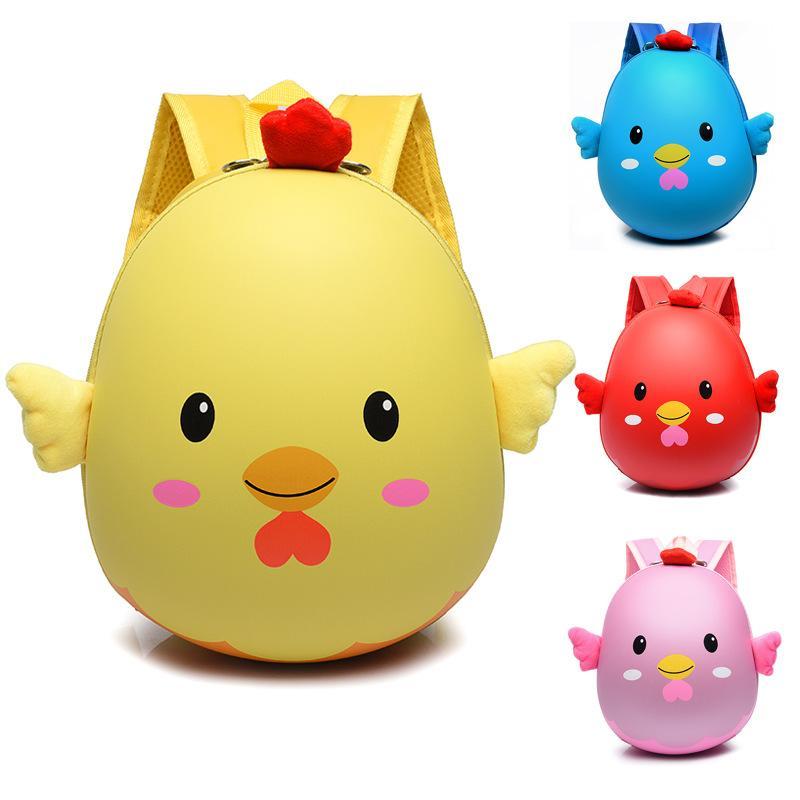4 couleurs petite taille coquille d'oeuf bébé sac de voyage mini-enfants sac à dos sac double sac à bandoulière marée 2-6 ans
