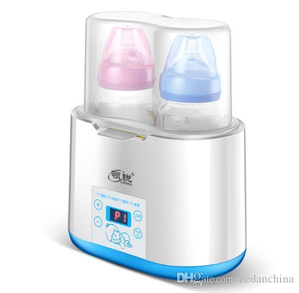 Calentador multifuncional para bebé leche caliente botella esterilizador inteligente automático de temperatura constante aislamiento bebé leche calentador