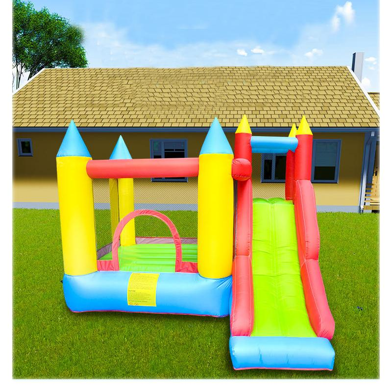 Inflatable Bouncers UK Family Use Jumping Castle and Slide Commercial Inflatable Bouncers Inflatable Bouncer Slide for Kids Party Garden Fun