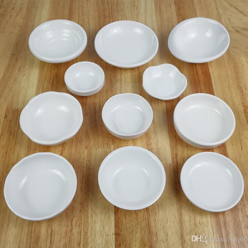 조미료 접시 모조 도자기 소스 접시 물방울 모양의 그릇 대장 간장 고급 A5 멜라민 식기