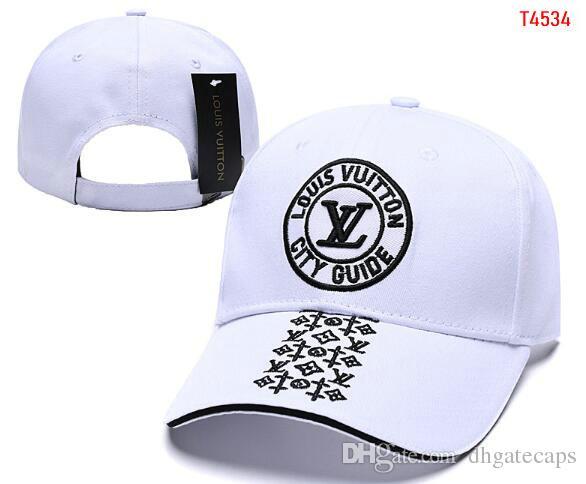 Adam paneli snapback beyzbol şapkası Kadınlar gündelik siperliği Gorras kemik casquette şapka 07 İndirim Cap tasarım markası kapağı V Nakış Lüks şapkalar