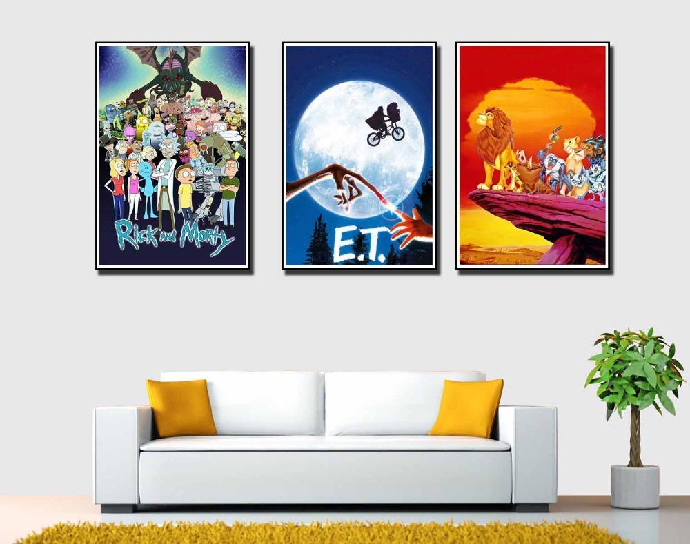 0446A Daft Punk Super Music Band-Wall Sticker Silk Poster Light Canvas Decoration