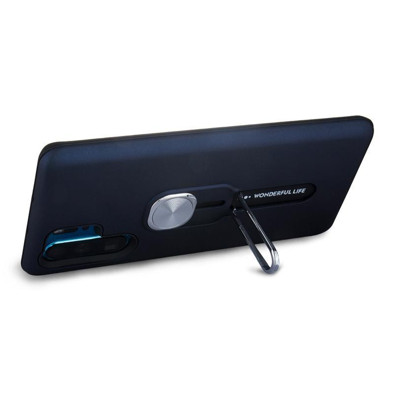В случае Р30 Хуавей Pro с телефона кольца палец стойки двойной слой телефон корпус магнитный автомобильный держатель телефона чехол с подставку