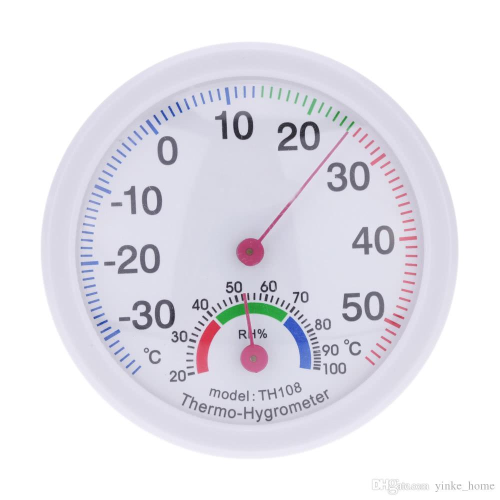 Hygromètre -35 ~ 55 ° C de thermomètres de mètre d'humidité analogique-numérique de Digital pour la maison