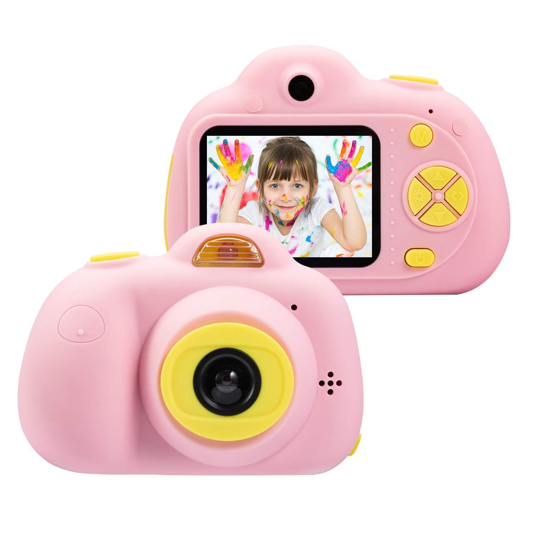 Regalo Bambina 4 Anni acquista articoli da regalo della macchina fotografica bambini 4 8 anni  ragazze grande regalo mini bambino videocamera la bambina con soft shell
