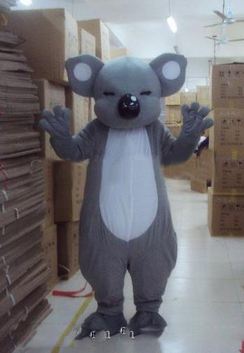 Koala Bear Mascot Costume Suit Adult Party Dress Outfit Cosplay Birthday Aniamls