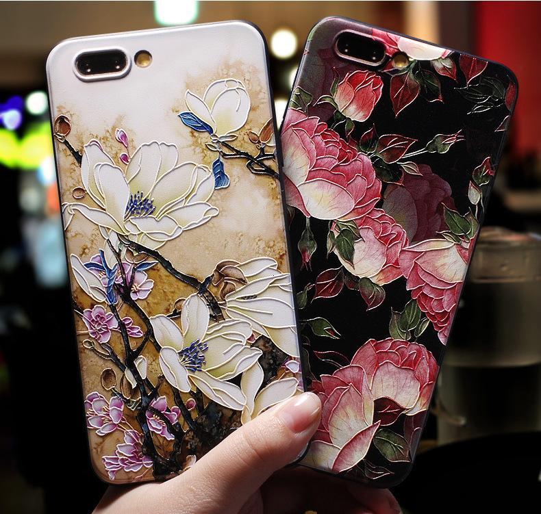 3D bonito Emboss modelado Telefone Capa iphone X 11 Pro XS Max 8 7 6 6S Mais 9 Soft Case capa de silicone para o iPhone 5 5S SE Coque
