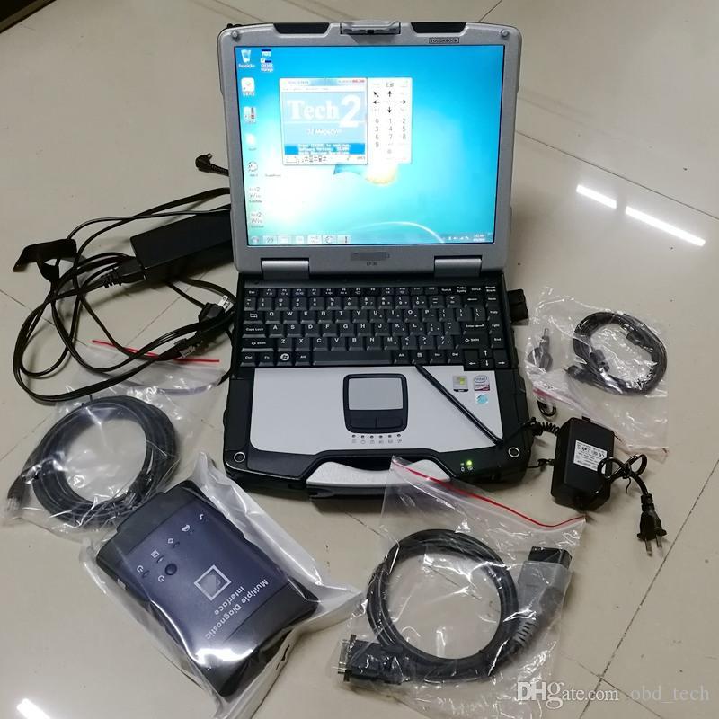 G-M MDI 2020 Software Otomatik Teşhis Aracı Çoklu Teşhis Arabirimi OBD2 Tarayıcı Teşhis Aracı CF30 4G 360 GB SSD Kullanıma hazır