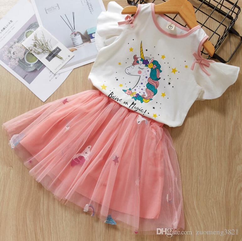Vestito casuale bambini per le ragazze di partito estate neonata principessa abiti Costume vestido compleanno del fumetto dei bambini dei vestiti delle nuove ragazze