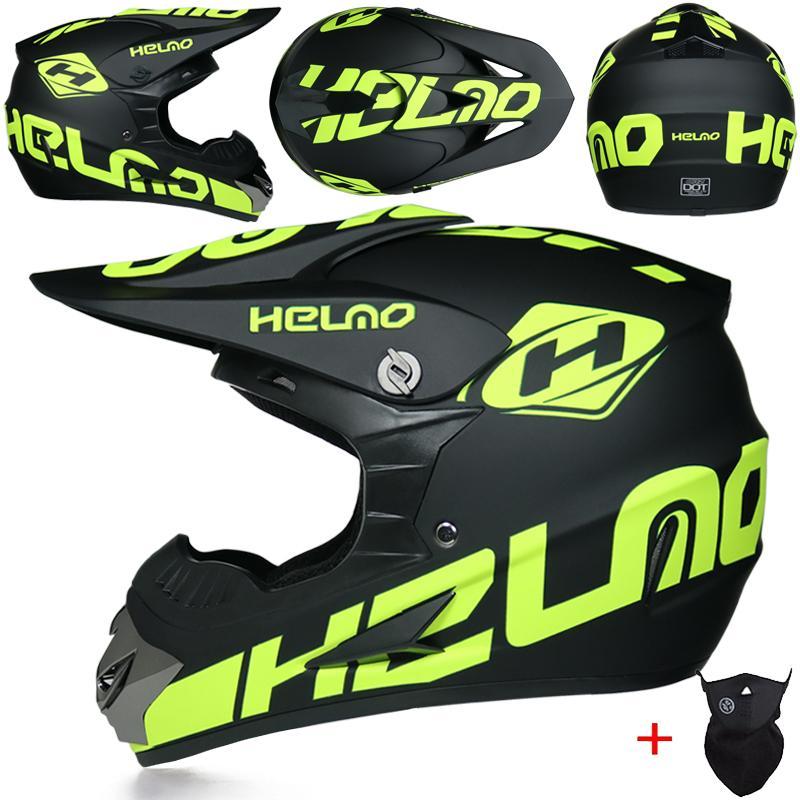 продажи MSUEFKD Горячие внедорожных шлемы скоростного спуска на горную полном шлет лицо креста мотоцикла Moto каско Casque capacete