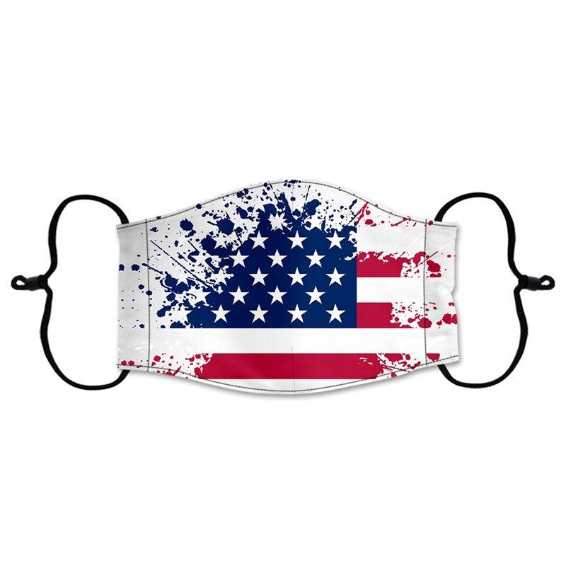 Ice seta Maschera antipolvere Bocca Maschere viso regolabile elastico Unisex Maschera lavabile antipolvere respirazione protettivo Designer Maschera Nuovo Gga338 # 931