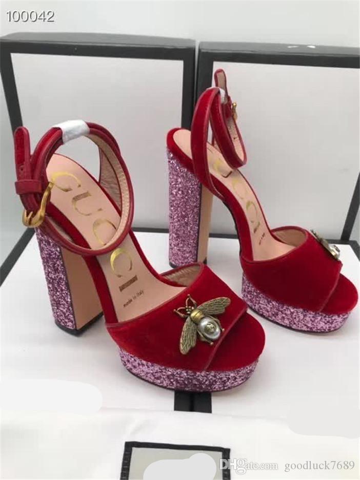 Newest884 женские туфли на высоком каблуке банкетные свадебные туфли платье обувь для вечеринок сандалии на высоком каблуке тапочки Повседневная обувь плоские заклепки сандалии
