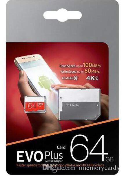 2019 뜨거운 판매 디지털 카메라 스마트 폰 32기가바이트 64기가바이트 1백28기가바이트 256기가바이트 마이크로 카드 CLASS10 태블릿 TF 카드 교통 무료