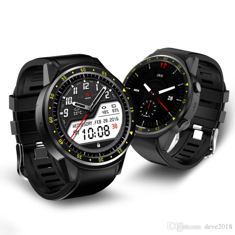 F1 Smart Watch GPS y brújula Posicionamiento Monitoreo del ritmo cardíaco Altitud Presión Reloj deportivo al aire libre para Android y IOS