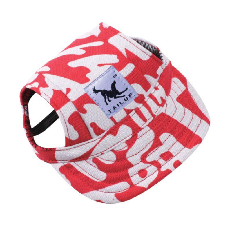 Dog Cap Summer Canvas Dog Hat Casual Baseball Cap For Small Outdoor Travel Accessories For Dogs
