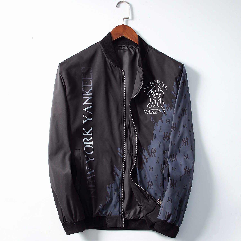 Мужская куртка 2019 куртки с длинными рукавами осенью и зимой новая мода высокого класса мужской личности короткий жакет A6609