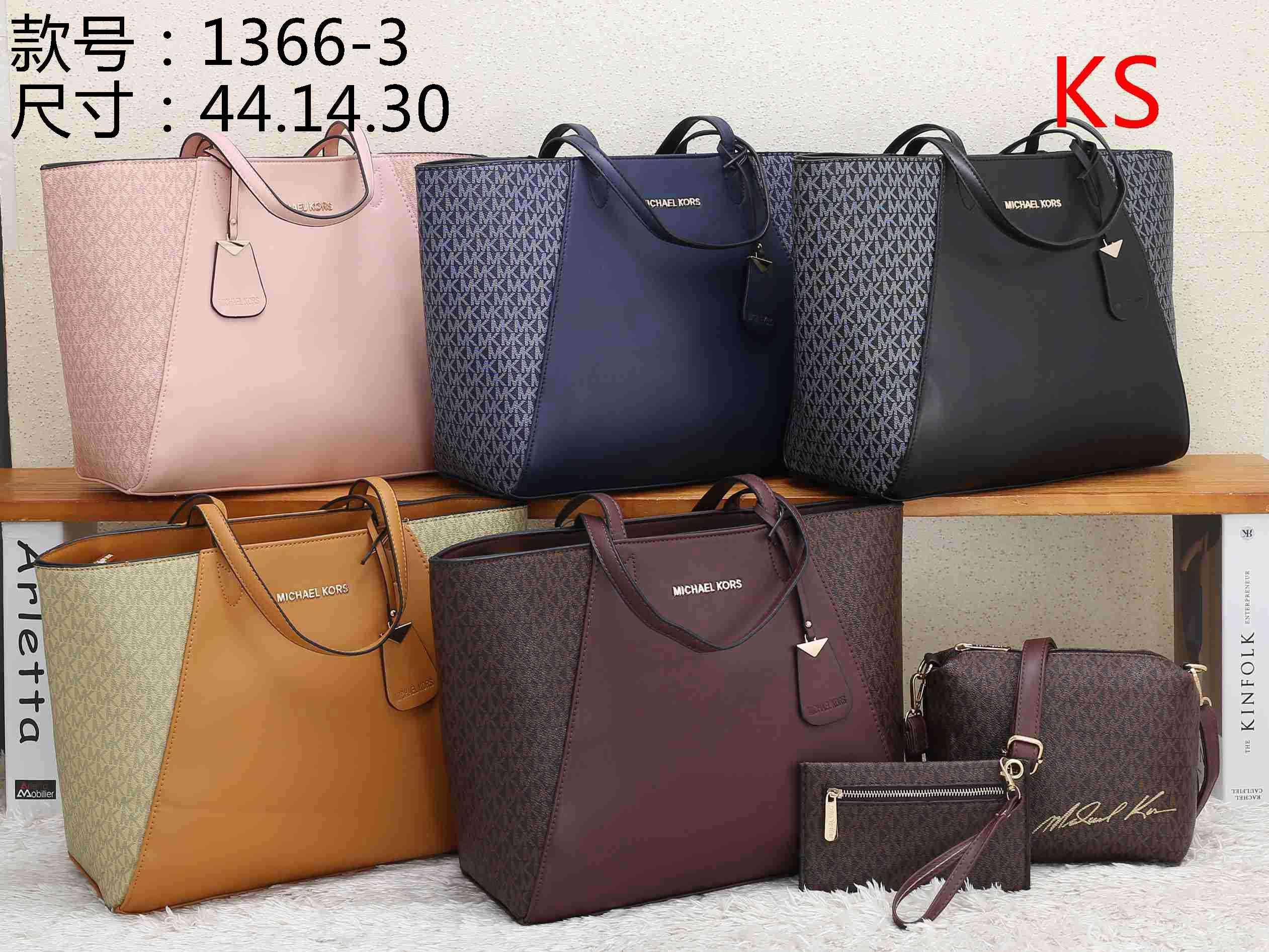 KS 1366-3 Meilleur prix élevé des femmes de qualité dames sac à main fourre-tout unique portefeuille de bourse de sac à dos d'épaule