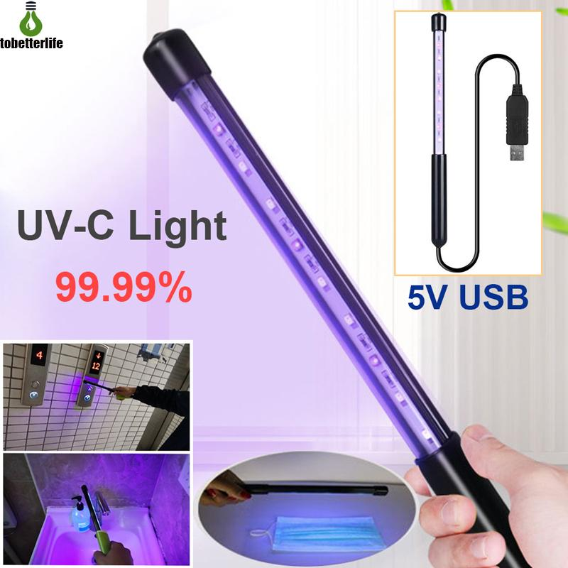 Jewelry and Disinfection Charging Handheld Portable Sterilizer Ultraviolet Disinfection Sterilization Stick Sticks for Mobile Phones