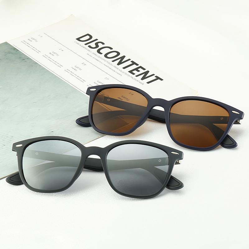 New Retro Men's Designer Sunglasses Hot Brand Sunglasses Full Frame Square Frame Retro Men's Luxury Eyewear Come with Original Case