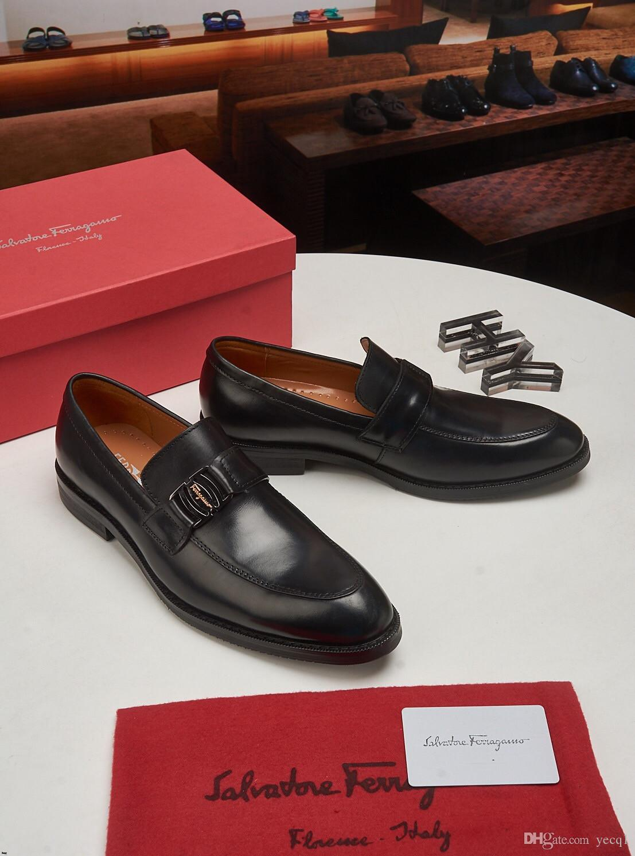 Chaussures formelles pour hommes en cuir véritable Slip On Alligator Noir Motif Hommes Oxford Main Fait À La Main Style Crocodile Hommes Robe Chaussure