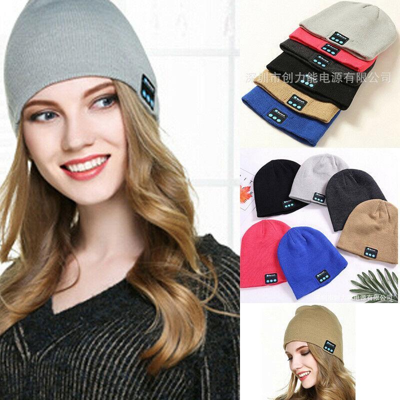 جديد حار قبعة القبعة بلوتوث اللاسلكية الذكية كاب سماعة الموسيقى الشتاء الرياضة سماعات