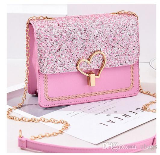 wholesale 2019 Newest Shoulder Crossbody Bags For Women Cute Chain black Handbag fashion bags women leather hand bags for Ladies