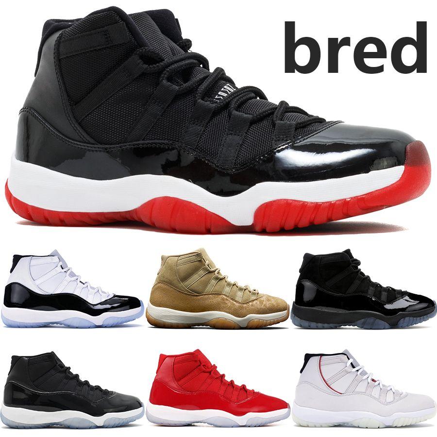 Sıcak 11 11'leri jumpman basketbol ayakkabıları 45 Şapkanız yılan ışık kemik Heiress Siyah moda lüks tasarımcı erkek kadın spor ayakkabıları ruhi yetiştirilen