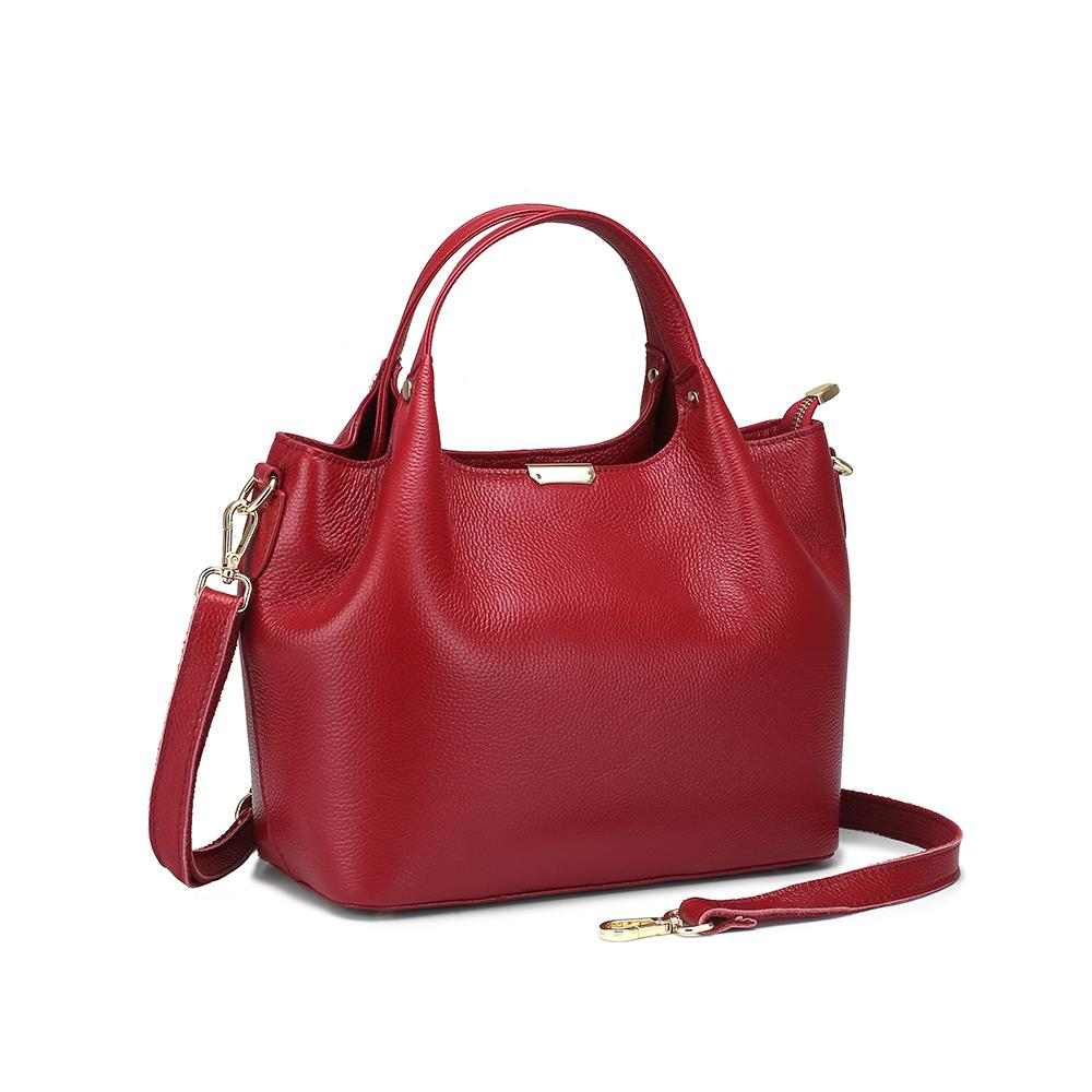 Bolsos de mano Casual para mujer, bolsos de hombro de cuero genuino de vaca, bolso bandolera de gran capacidad, diseñador de marca famosa para mujer T200409