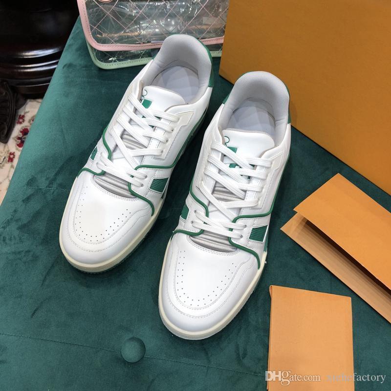 2019 uomini scarpe casual scarpe Oxford abbigliamento per uomini di lussoprogettistaPlatform Shoes Leather Lace Up Wedding quotidiana della scarpa da tennis 38-45 h01