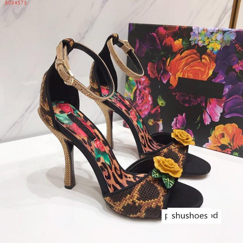 Frauen Sommer Sandalen hochwertige Sicken Pantoffeln echtes Leder Turnschuhe gespickt Strass High Heel Mode Schuhe Dame Mädchen