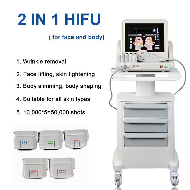 2020 hifu machine hifu face lifting machine Wrinkle Removal high intensity focused ultrasound Device HIFU facial machine