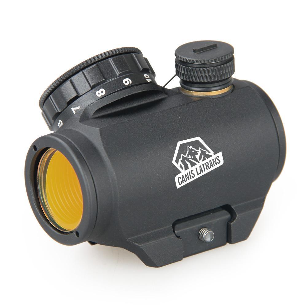 Canis Latrans 1x20mm HD Reflex Reglex Reticolo: 3MoA Dot rosso per la caccia e l'uso esterno di buona qualità CL2-0068