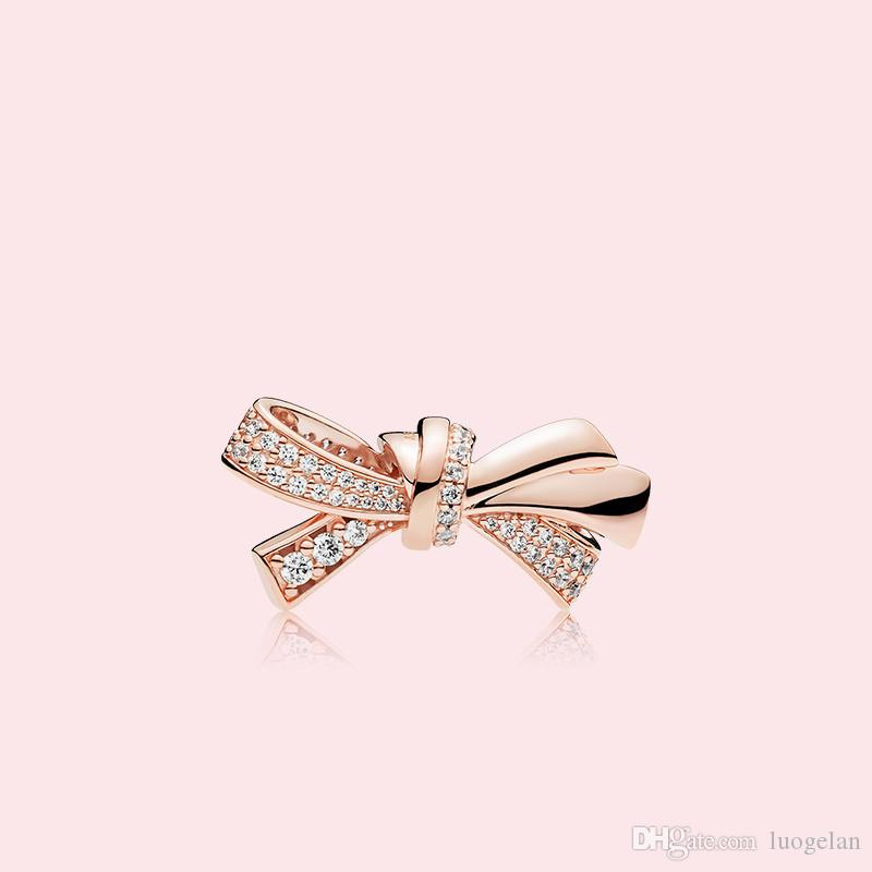Making Necklace Day Sterling 925 Bow Fits Rose Gold 2021 Charm Beads Jewelry DIY Silver Mother's For Women Pandora Bracelets Xwuqf