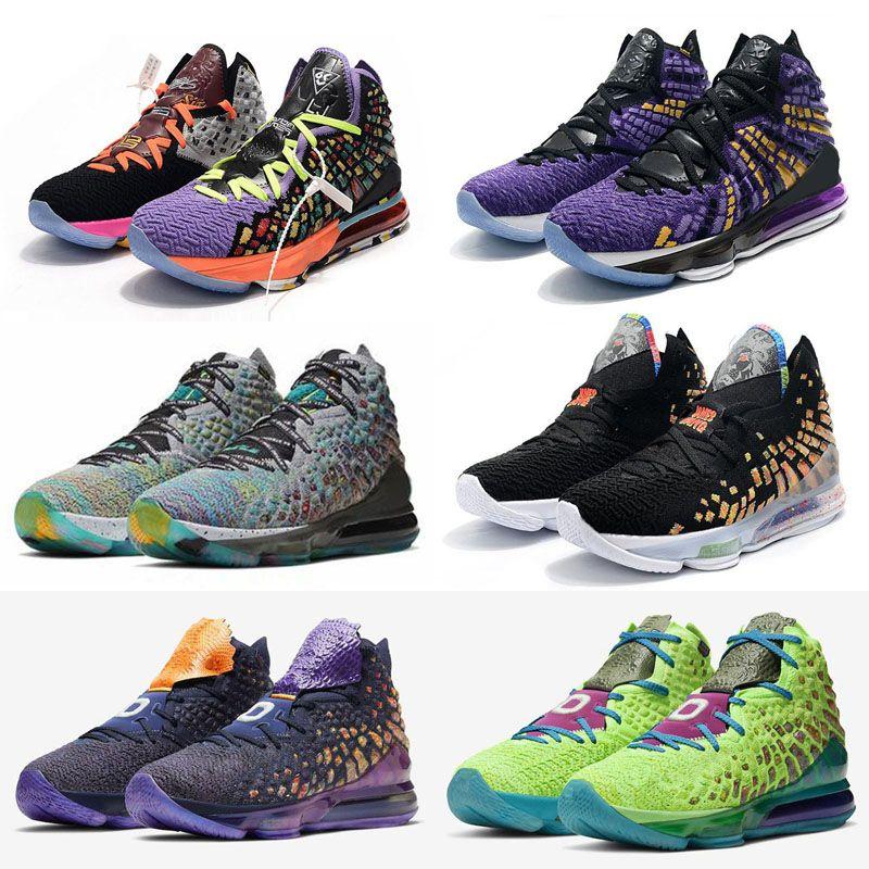 2020 أحذية جديدة ليبرون 17 السابع عشر Monstars السيد Swackhammer I وعد جيمس جانج بنين الاطفال كرة السلة شحن مجاني