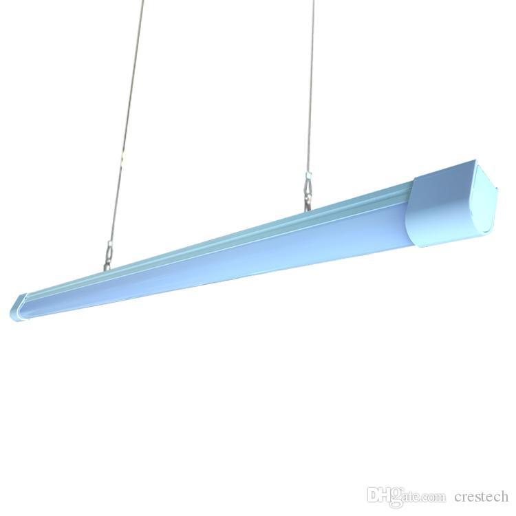 High CRI RA80 LED Bar Lights LED Shop Light for Garages Lamps, Work Areas and Shops 6000K Cool White 50W 4 Foot