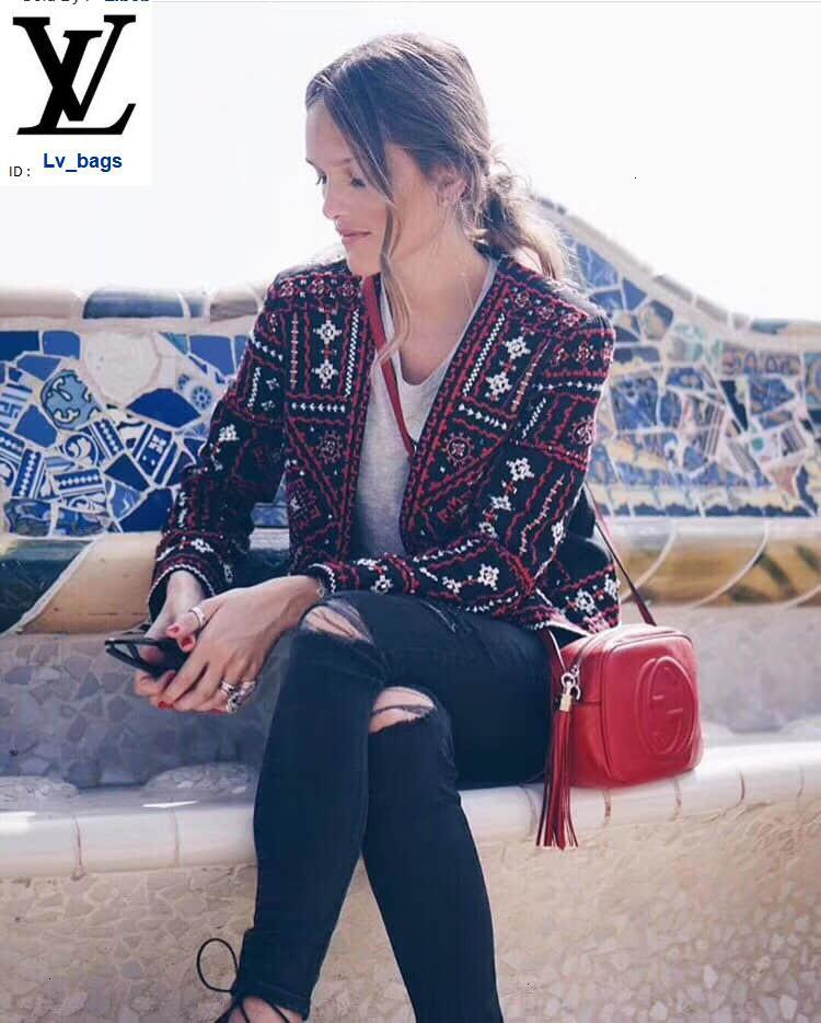 Yangzizhi New Full Leather Soho Camera Bag 308364 Red Handbags Bags Top Handles Shoulder Bags Totes Evening Cross Body Bag