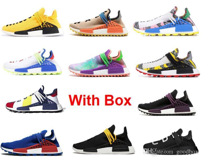 Corrida de ouro Raça TR HU Trilha China Exclusivo Paixão Paz juventude Running Shoes Com Box mulheres mens formadores moda esportiva tênis