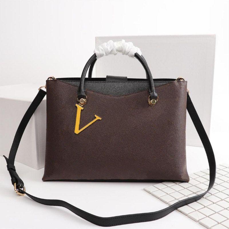 high-quality new Women FashionBags Shoulder Bags Totes Handbags real leather Handles free shoping 36x25x15cm 40050