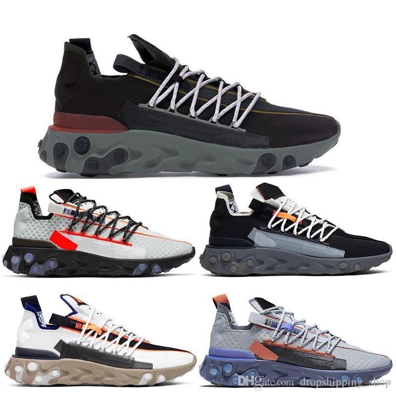 Nike Zapatillas De Running 2020 Best React WR ISPA Hombre Mujer Ghost Aqua  Elvet Brown LW MID Gunsmoke Pure Platinum White Grey Zapatillas De Deporte  ...