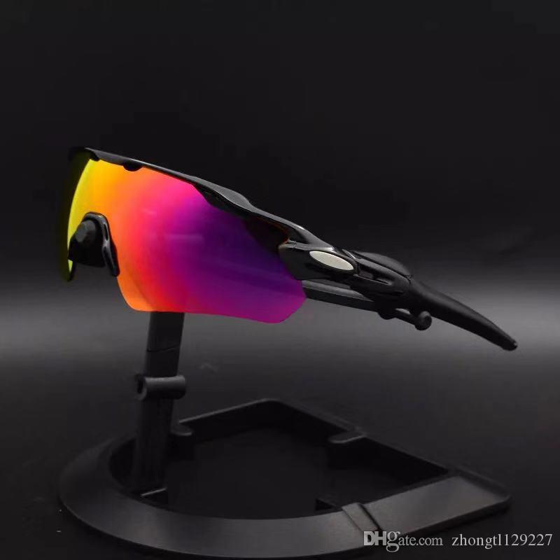نظارات الرادار EV نظارات في الدراجات نظارات شمسية الاستقطاب عدسة الدراجات نظارات دراجة نظارات الرجال النساء الرياضة ركوب نظارات الشمس