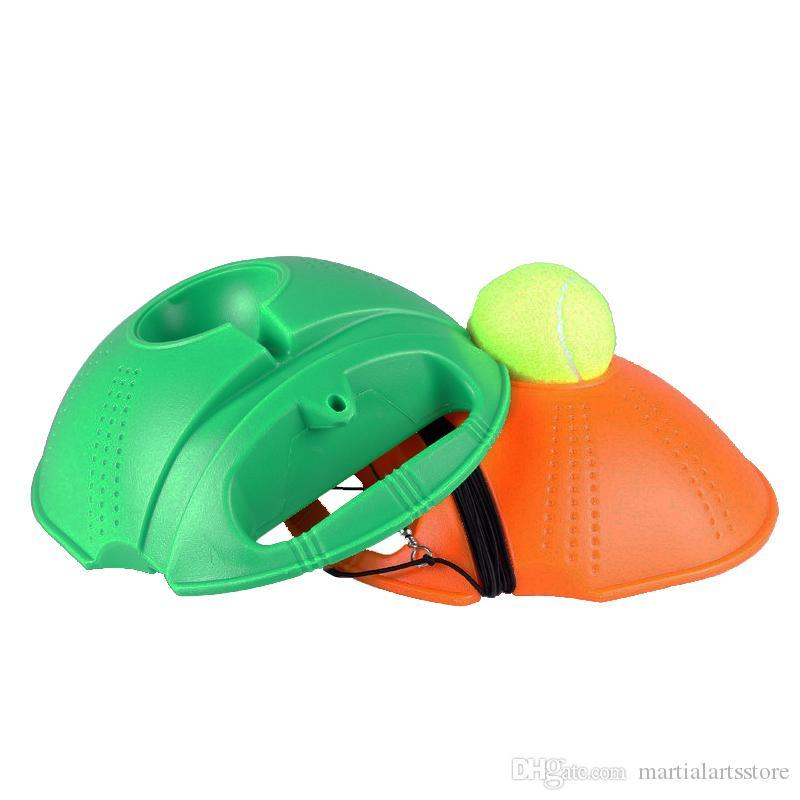 Formation Heavy Duty Tennis Outil exercice Balle de tennis Sport auto-apprentissage Ball Rebond avec tennis formateur Plinthe Sparring périphérique