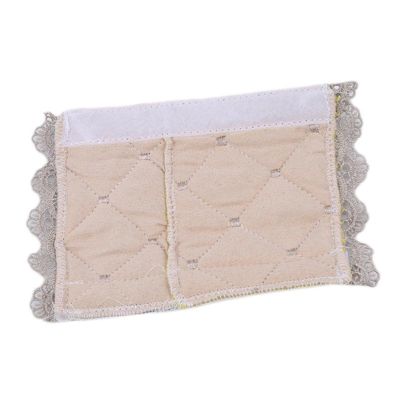 New Fashion Embroidered Lace Thick Cloth Cover For Fridge Handle Fabric Doorknob Dust Handle Gloves Refrigerator Handle Cover