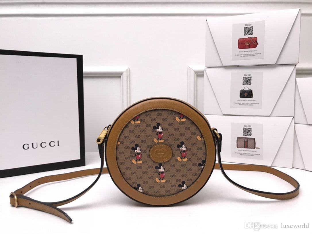 Designer sac à main concepteur portefeuille sac à main gâteau sac à dos rond Sac à main type portefeuille de sac de voyage de valise porte-cartes 603938 HWUBM 8559