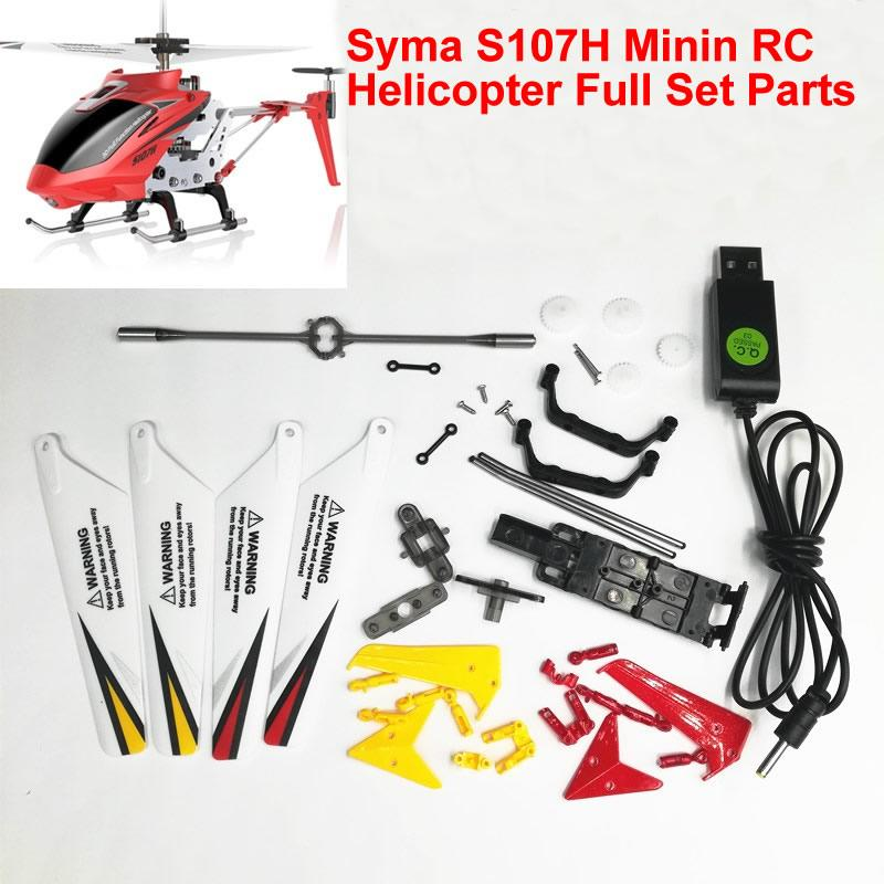 2020 Syma S107h Small Remote Control Helicopter Toy Wearing Parts Main Blades Gears Balance Bar Main Shaft Head Usb Charger Ect From Flowersvoice 2 51 Dhgate Com