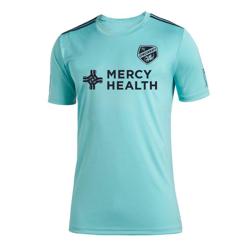 2019 FC Cincinnati Parley Soccer Tehersys Garza Bertone ADI 2019 2020 FC Cincinnati Parley Jersey футболки 19 20 мл