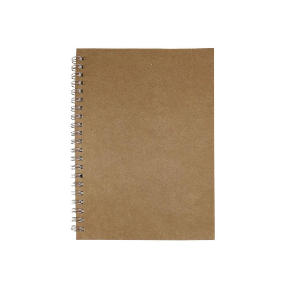 A5 B5 Coil Binding Planning Schedule Book Eye-protect School Office Journal Hardcover Stationery Dot Grid Notebook