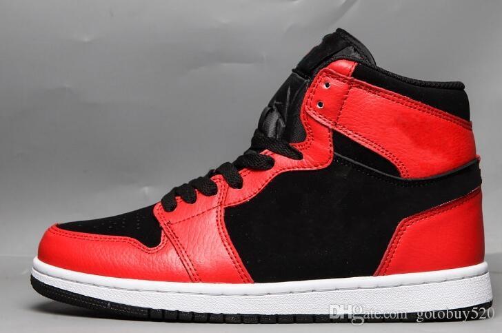 2020 novos 1s alta Top Royal OG Tribunal roxo preto mulheres de couro vermelho homens sapatos ao ar livre de alta qualidade baratos sapatos tamanho 36-47
