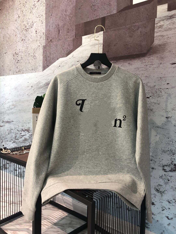 20ss moda outono e inverno gola carta de impressão manga comprida de algodão com capuz Homens Mulheres camisola zdl0703.
