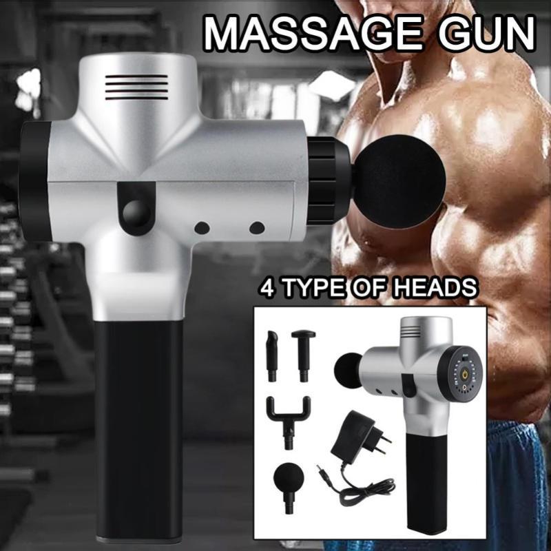 Vibromassage Percussive Vibration profonde remise en forme Body Therapy Muscle Massage Gun Vibro sans fil portable à haute fréquence électrique